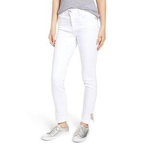 Current/Elliott Jeans - Current/Elliott Stiletto High Waist Frayed Hem 30